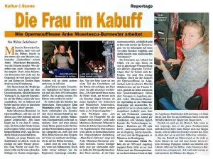 Artikel Die Frau im Kabuff